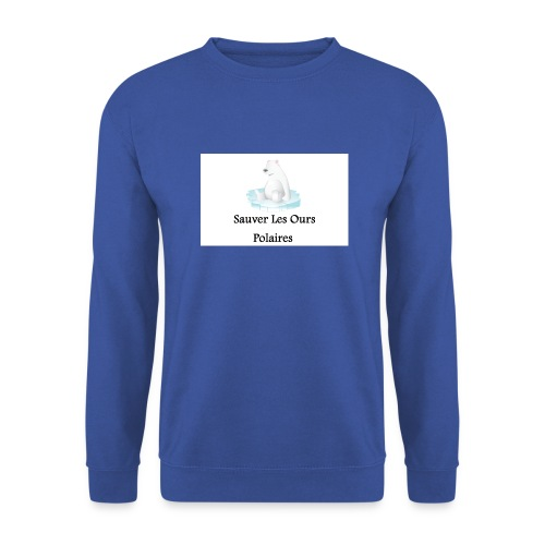 Sauver Les Ours Polaires - Sweat-shirt Unisexe