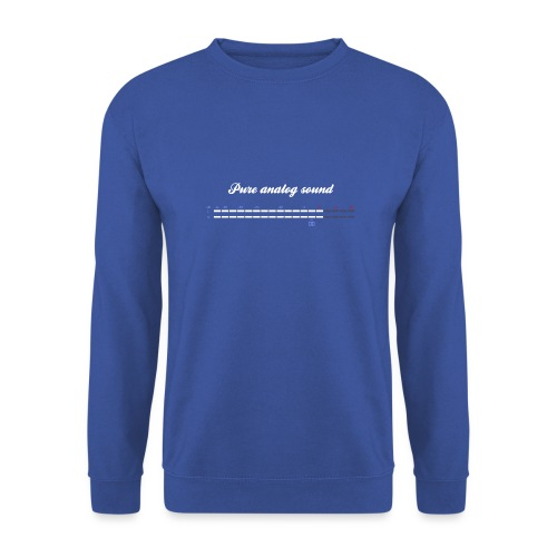 digital VU meters - Unisex Sweatshirt