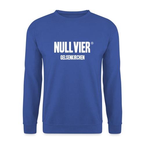 NULLVIER WHITE - Unisex Pullover