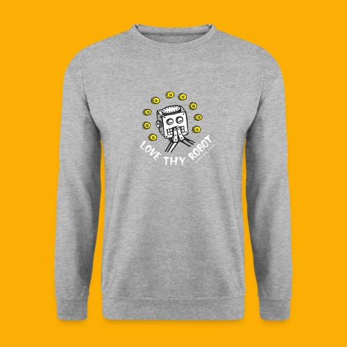Dat Robot: Love Thy Robot Series Dark - Unisex sweater