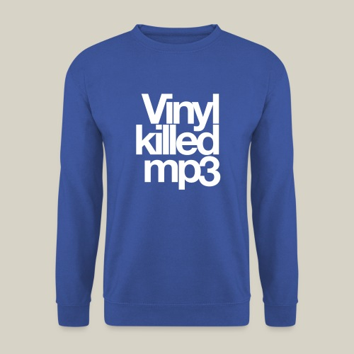 Vinyl_killed_mp3 - Unisex svetaripaita