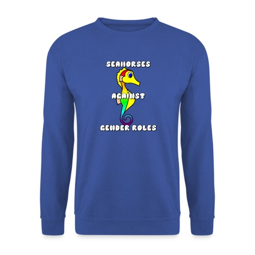Seahorses against gender roles - Unisex Sweatshirt