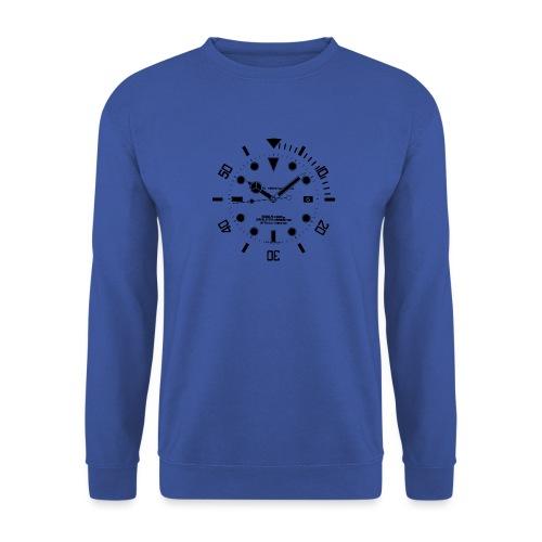 Submarine Luxury Watch Dial Details - Unisex Sweatshirt