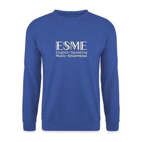 ESME Logo Weiss - Unisex Pullover