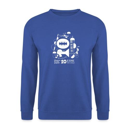 ESME Anniversary Design Weiss - Unisex Pullover