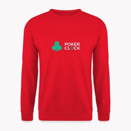 Poker Clock Logo - Unisex Pullover