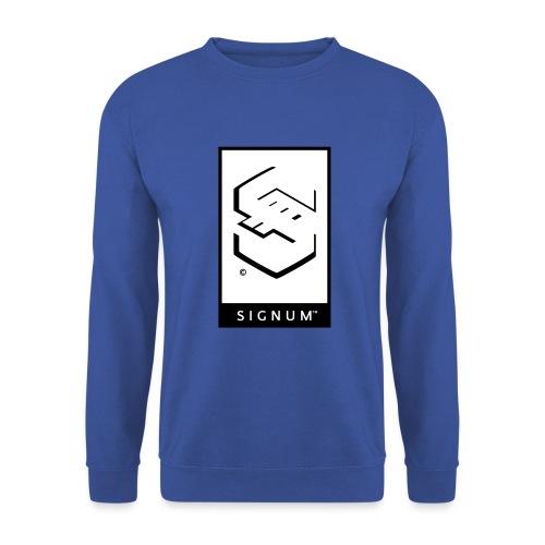 signumGamerLabelBW - Unisex Sweatshirt