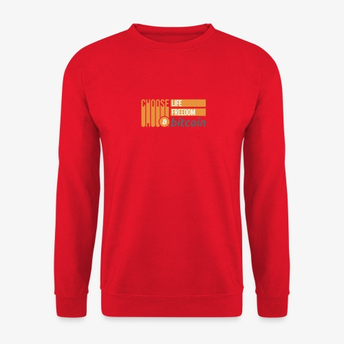 Bitcoin - Sweat-shirt Unisexe