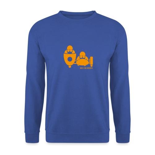BASSET LOGO orange - Sweat-shirt Unisexe