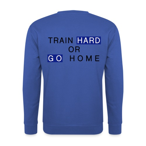 Train Hard - Männer Pullover