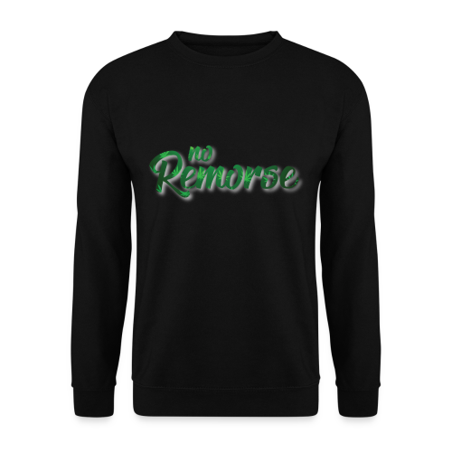 No Remorse Title With Weed No Background - Men's Sweatshirt