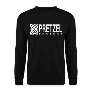 Pretzel Factory Logo Blanc - Sweat-shirt Homme