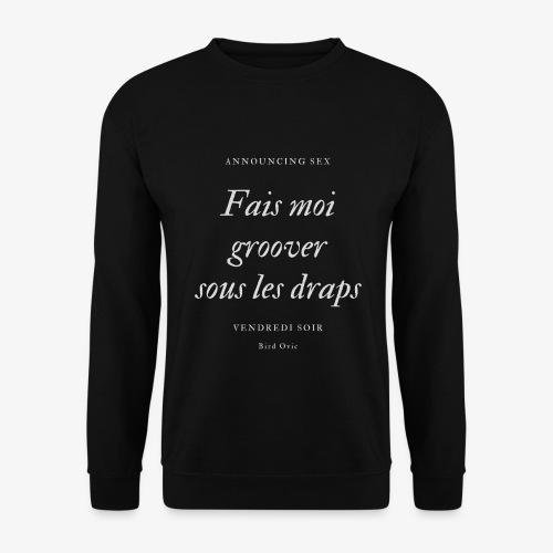 groover noir - Sweat-shirt Homme