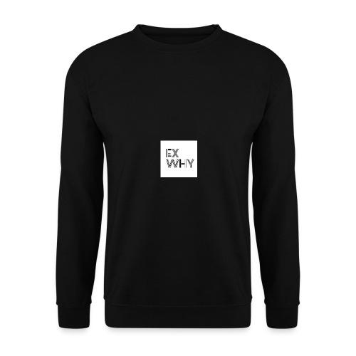 EX WHY logo - Men's Sweatshirt