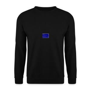 Blue SocialSocial screen - Herre sweater