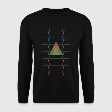 geometrische Herzensbrecher - Männer Pullover