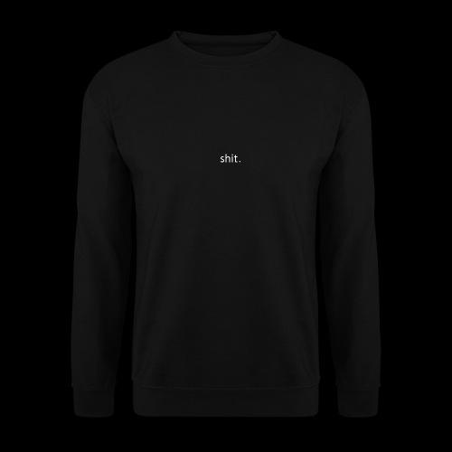 shit. White - Men's Sweatshirt