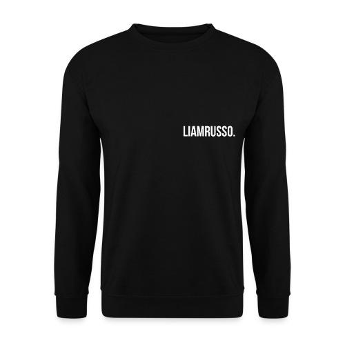 LiamRusso logo wit - Mannen sweater