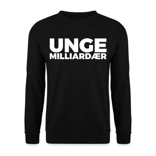 unge-mill-logo-hvit - Genser for menn