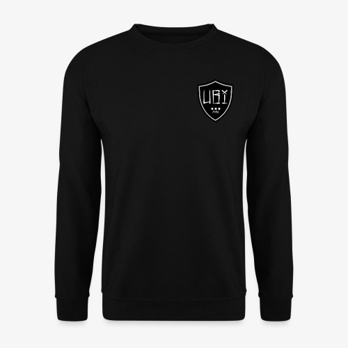 Ubi badge black - Mannen sweater