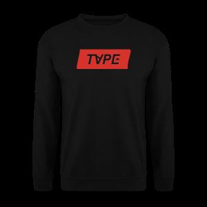 TAPE SHAPE RED - Mannen sweater