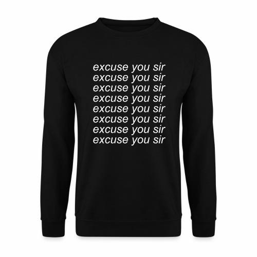 Excuse you x8 - Herrtröja