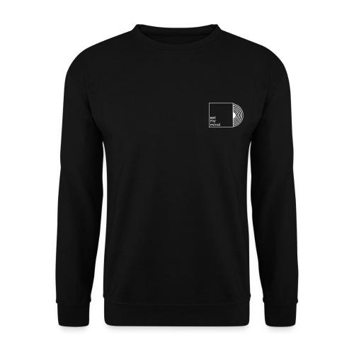 Set My Mind Logo - Männer Pullover