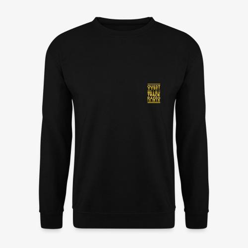 Logo Vertical Petit Jaune - Sweat-shirt Homme