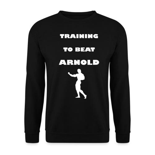 Training to beat Arnold - Sudadera hombre