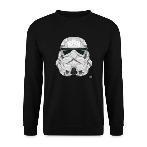 stormtrooper logo - Sweat-shirt Homme