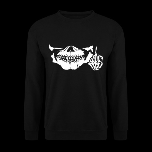 DJ SKULL LOGO - Sweat-shirt Homme