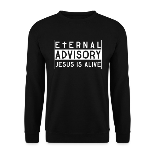 Eternal Advisory: Jesus is Alive - Christlich - Männer Pullover