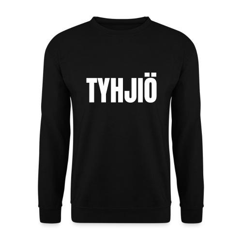 TYHJIÖ Logo White - Men's Sweatshirt