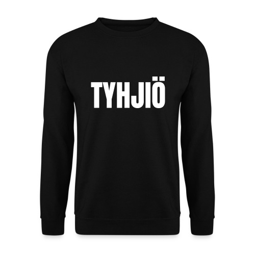 TYHJIÖ Logo White - Miesten svetaripaita