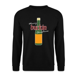 Merry Buckin Christmas 4 - Men's Sweatshirt