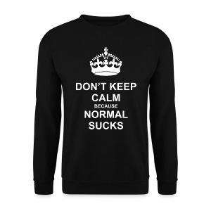 Normal sucks - Bluza męska