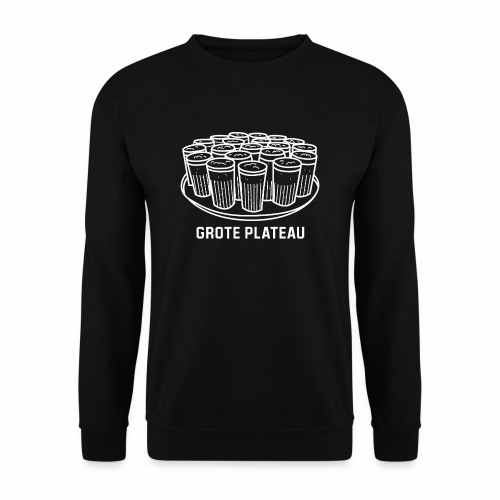 Grote Plateau - Mannen sweater