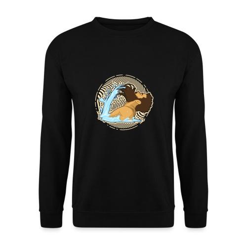 Bart Welle - lustiges Geschenk für Männer mit Bart - Männer Pullover