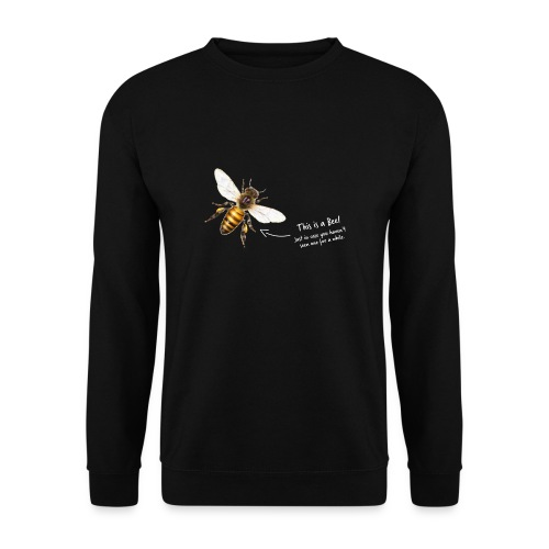 This is a Bee! - Männer Pullover