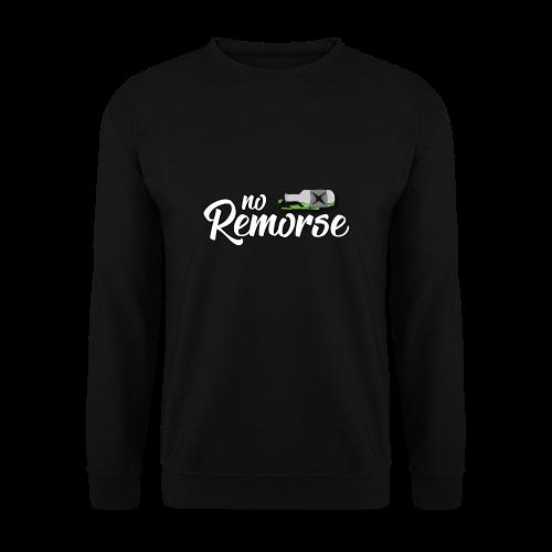 No Remorse Title And Bottle - Men's Sweatshirt