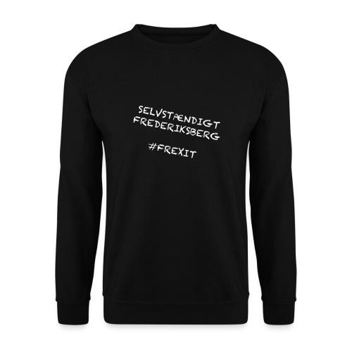 Selvstændigt Frederiksberg #FREXIT - Herre sweater