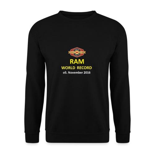 RWR gelb mit Datum (weiß) - Männer Pullover