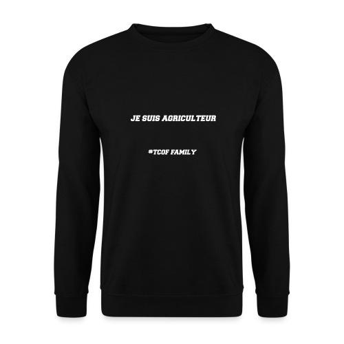 Articles Je suis agriculteur écritures blanches - Sweat-shirt Homme
