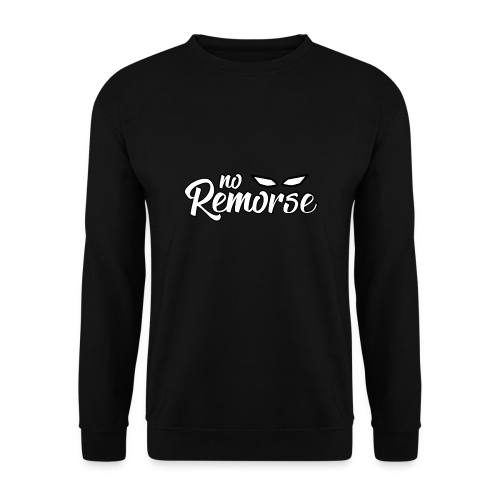 No Remorse Title With Eyes - Men's Sweatshirt