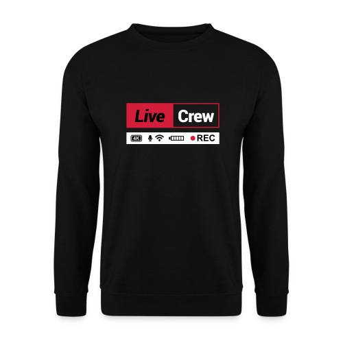 Live crew - Felpa da uomo