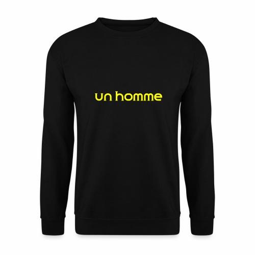 Un homme - Mannen sweater