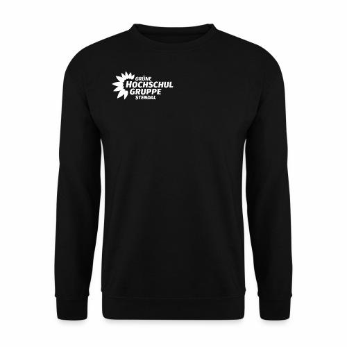 GHG Stendal Logo weiss - Männer Pullover