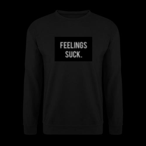 Feelings Suck - Männer Pullover