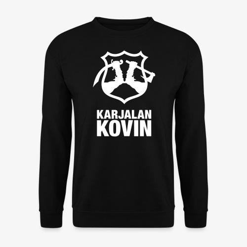 Karjalan Kovin Iso logo - Miesten svetaripaita