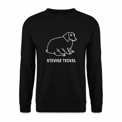 Stevige Teckel - Mannen sweater